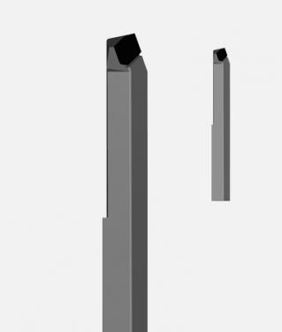 Резец токарный проходной упорный отогнутый т5к10 размер 40х32х240